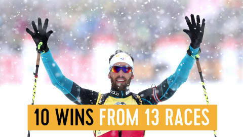 Fourcade the record chaser