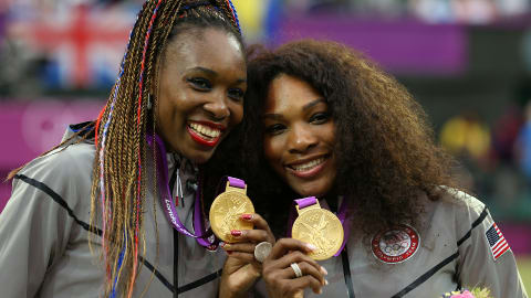 Las hermanas Williams son casi la pareja perfecta