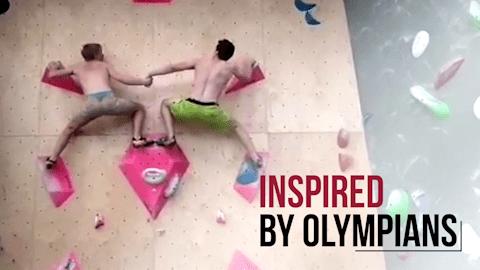 스포츠 클라이밍 컴필레이션 I Inspired by Olympians