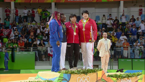 Andeol wins gold in Women's 78kg Judo