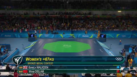 Zheng wins Women's 67kg Taekwondo gold