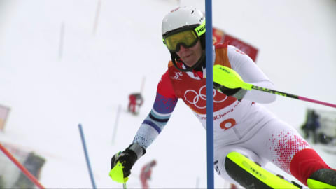 Women's Combined, Slalom Run - Alpine Skiing | PyeongChang 2018 Replays