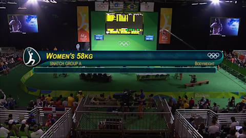 Sollevamento pesi: femminile 58kg | Rio 2016 Replays