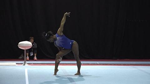 Artistic Gymnastics World Championships 2019 | As it happened: Simone Biles press conference and podium training