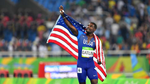 Justin Gatlin : Mes temps forts de Rio