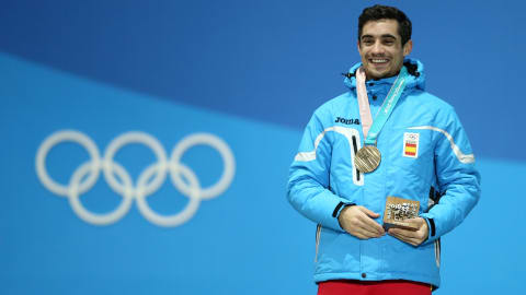 عالم التزلج يكرّم فيرنانديز قبل منافسته الأخيرة