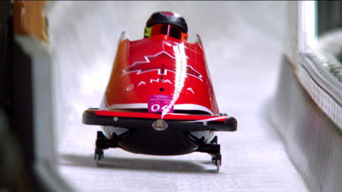 Phylicia George wins Women's Bronze | Bobsleigh