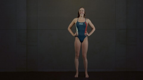 Anatomy of a Swimmer: How does Gold Medallist Abbey Weitzeil generate speed?