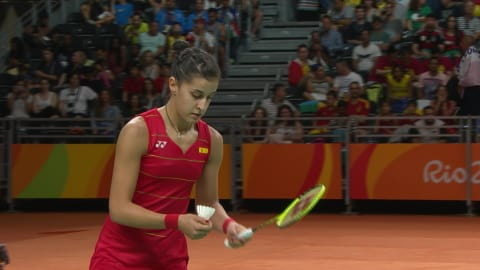 Best women's badminton rally from Rio 2016