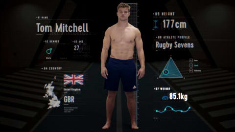 Anatomy of a Rugby Player: How strong is silver medallist Tom Mitchell?