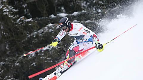 Men's Alpine Combined - Downhill   FIS World Championships - Åre