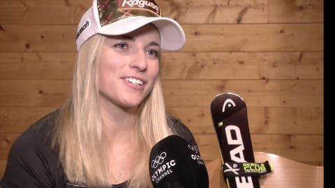 Lara Gut on her chances to win another overall crown
