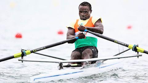 Hamadou Issaka: la respuesta del remo a
