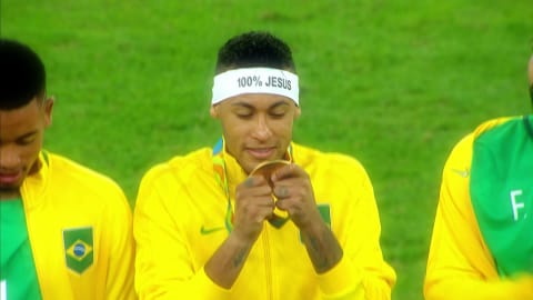 Nationalhymne: Brasiliens Highlights in Rio