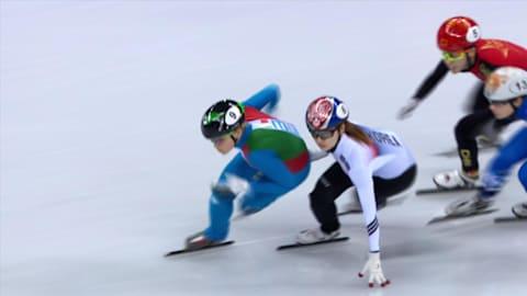 500m F, Demi-Finale 1 - Patinage de Vitesse ST | Replay de PyeongChang
