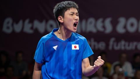 男子決勝 - 卓球 | YOGブエノスアイレス2018