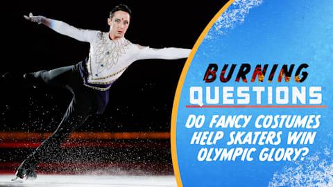 ¿Los trajes elegantes ayudan a los patinadores a lograr la gloria olímpica?