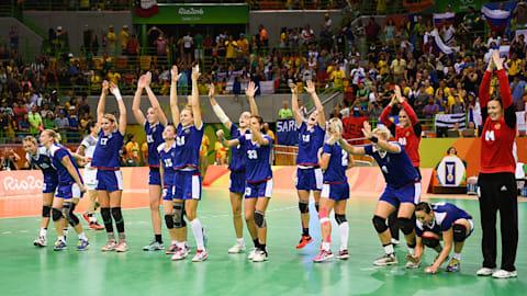 Russland gewinnt gegen Frankreich die Handball-Goldmedaille