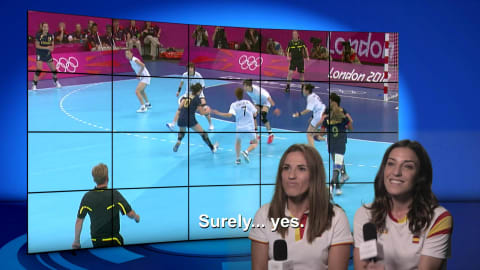 Elisabeth Pinedo & Carmen Martin | Londres 2012 | Take the Mic