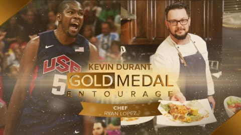 How big of a Foodie is Basketball hotshot Kevin Durant? ft. Chef Ryan Lopez