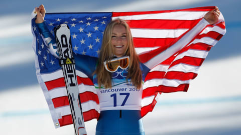 Lindsey Vonn out of Lake Louise World Cup event after training crash