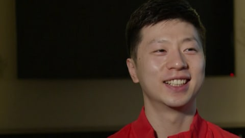 Ma Long World Champs exclusive: