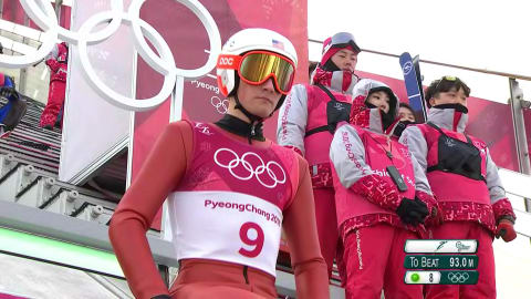 Normal Hill 10km, Ski Jumping - Nordic Combined | PyeongChang 2018 Replays