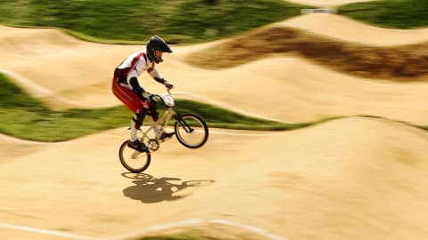 The beauty of BMX Cycling