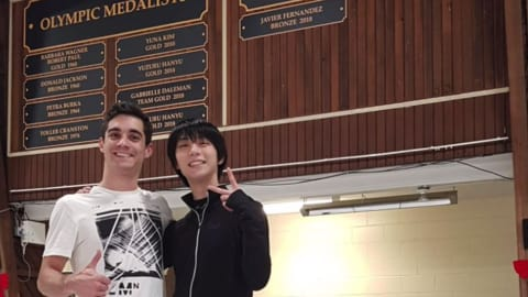 Yuzuru Hanyu sends heartfelt message to Javier Fernandez ahead of retirement