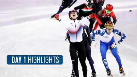 Day 1 Highlights | Pyeongchang 2018