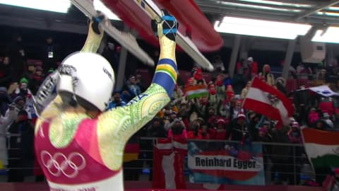 Re-Watch: Shiva Keshavan's last heat at the Olympic Games