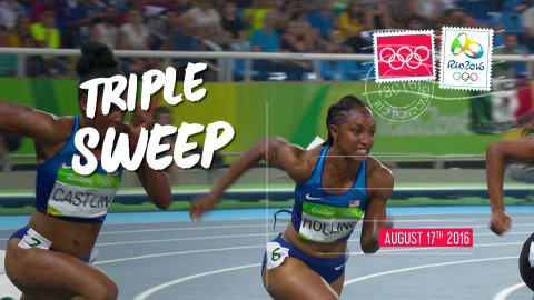 Postcards from Rio - Day 13: triple sweep