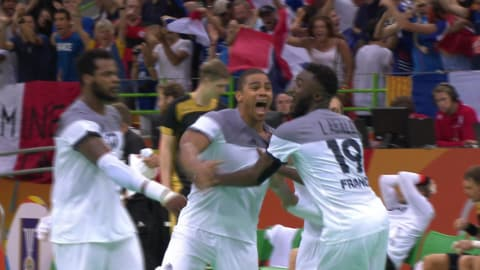 Buzzer-beater seals final place for France