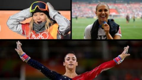 Aly Raisman, Chloe Kim & Alex Morgan feature in Maroon 5 video