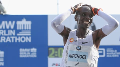 What does Athlete of Year Eliud Kipchoge have in common with Anthony Joshua?