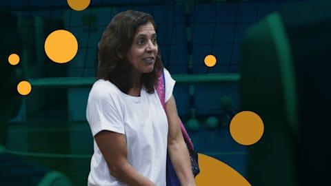 Consejos sobre voleibol con la leyenda olímpica brasileña Jackie Silva
