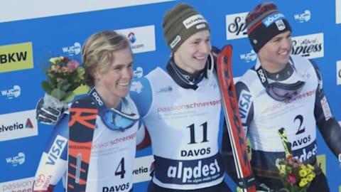 Odermatt beats Radamus to complete World Junior double