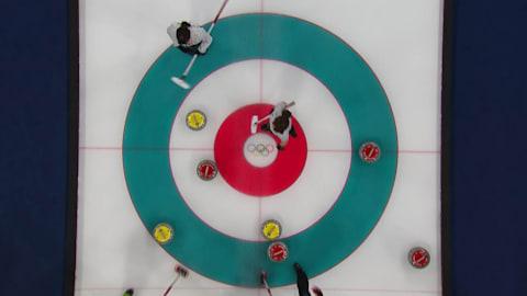 SUI v JPN (Poule) - Curling Femmes | Replay de PyeongChang