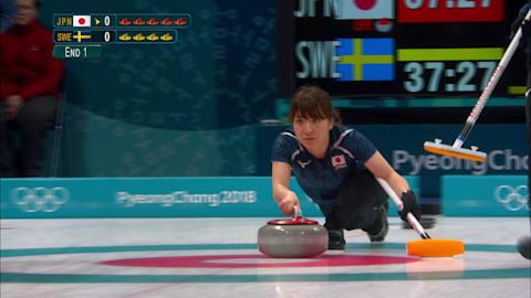 اليابان - السويد، الكيرلنج سيدات | بيونج تشانج