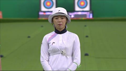H・J・チャン(韓国)6-2 L・ウンルー(ドイツ)
