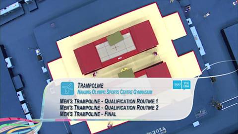 Men's Individual - Trampoline | 2014 YOG Nanjing
