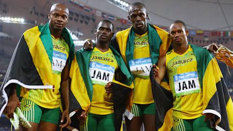 Peking 2008 - Jamaika gewinnt 4x100m Staffel und bricht den Weltrekord