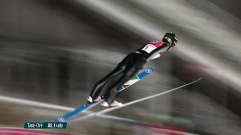 여자 노멀힐 - 스키점프 | 평창 2018 다시보기