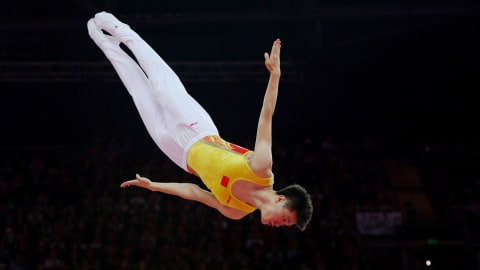 Ultimate Gold: Olympic quartet pull off trampolining perfection