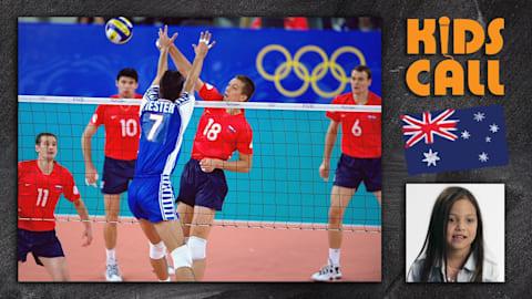 Finale masculine de volley: Yougoslavie vs Russie à Sydney 2000
