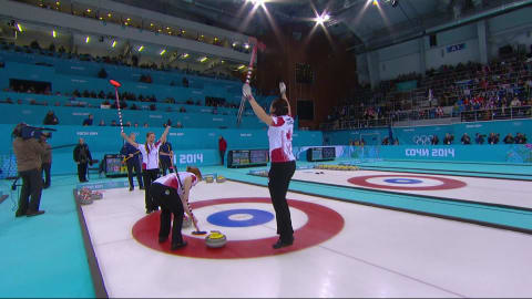 SWE vs CAN, Finale de Curling féminin | Replay de Sotchi 2014