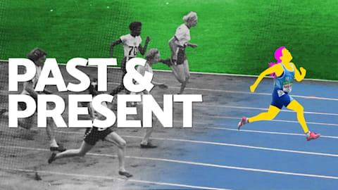 Pasado y presente - Atletismo