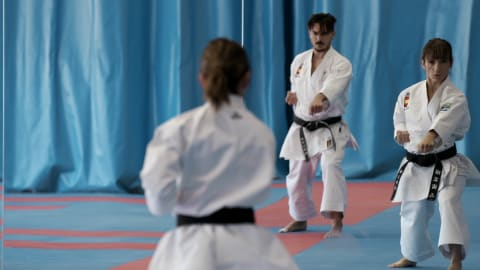 Spain's kata duo target Minsk and beyond