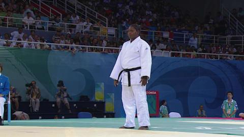 Дзюдо в Пекине-2008 - женщины, свыше 78 кг, схватка за бронзу 1