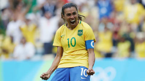 Top women's football goalscorers at the Olympics